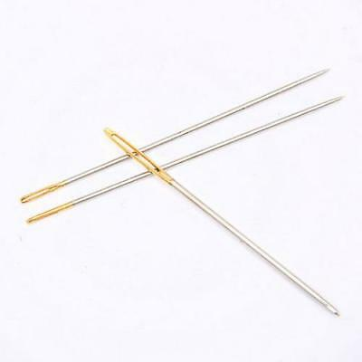 Assorted Hand Sewing NEEDLES -  Embroidery Mending Craft Quilt Case Sew 30pcs UK 7