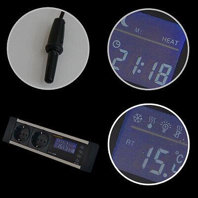 Digitaler Thermostat Thermometer Heiz- & Kühlregeleinrichtung Gewächshaus Tx4 4