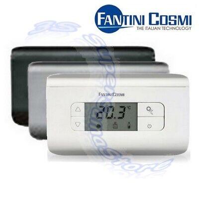 3S Nuovo Termostato Ambiente Digitale Ch115 Fantini Cosmi Bianco - Temperatura 2