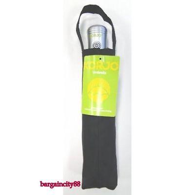 NEW Korjo Windproof Travel Umbrella Black Small 4