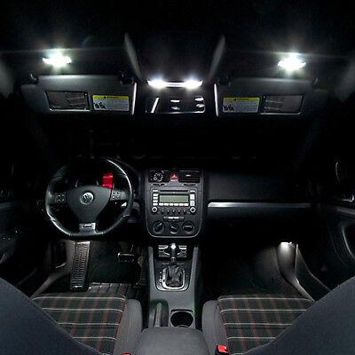 Kit 12 ampoules à LED pour l'éclairage intérieur blanc Volkswagen Golf 5 2