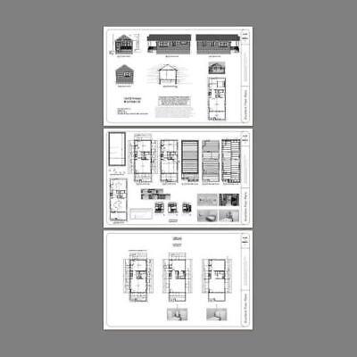 PDF Floor Plan Model 4B 16x20 Tiny House 574 sq ft