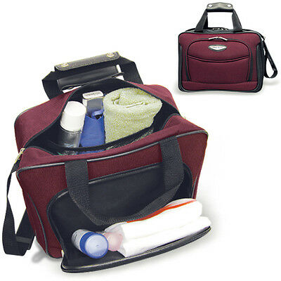 Amsterdam 2pc Carry-on Expandable Rolling Luggage Suitcase Tote Bag Travel Set 6