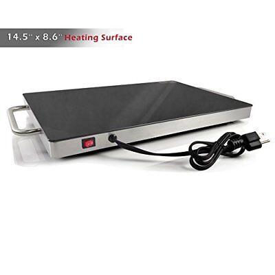NutriChef Electronic Plug-In Food Warming Tray PKWTR15 5