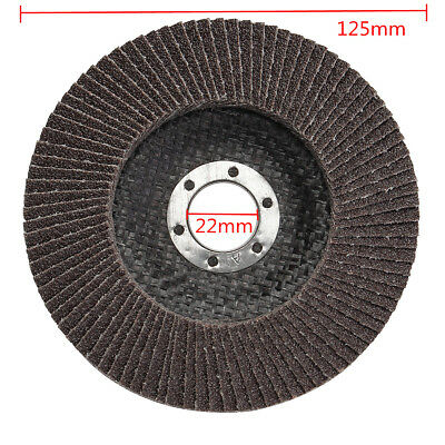 Angle Grinder Flap Sanding Disc 5'' 125mm 40-120 Grit Grinding Wheels 10/40Pcs 4