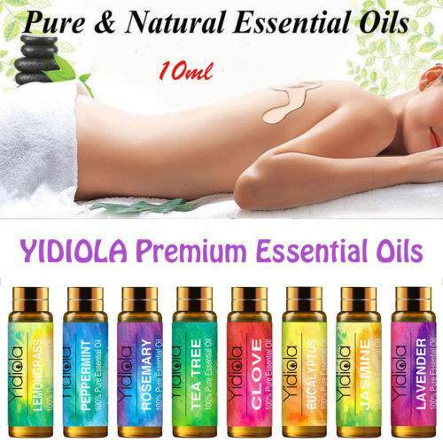 Essential Oils 100% Pure Natural Aromatherapy 10ml Essential Oil Fragrance Aroma 2