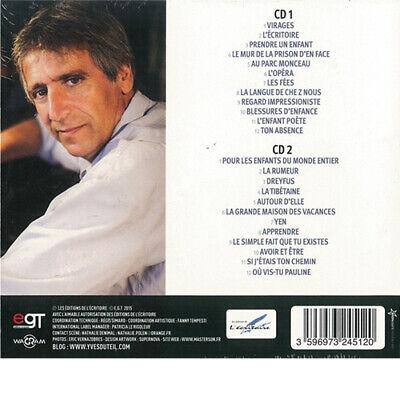 """Duteil Yves """"L'Essentiel 2CD RARE Série Limitée Digibook Neuf Sous Blister. $ 2"""