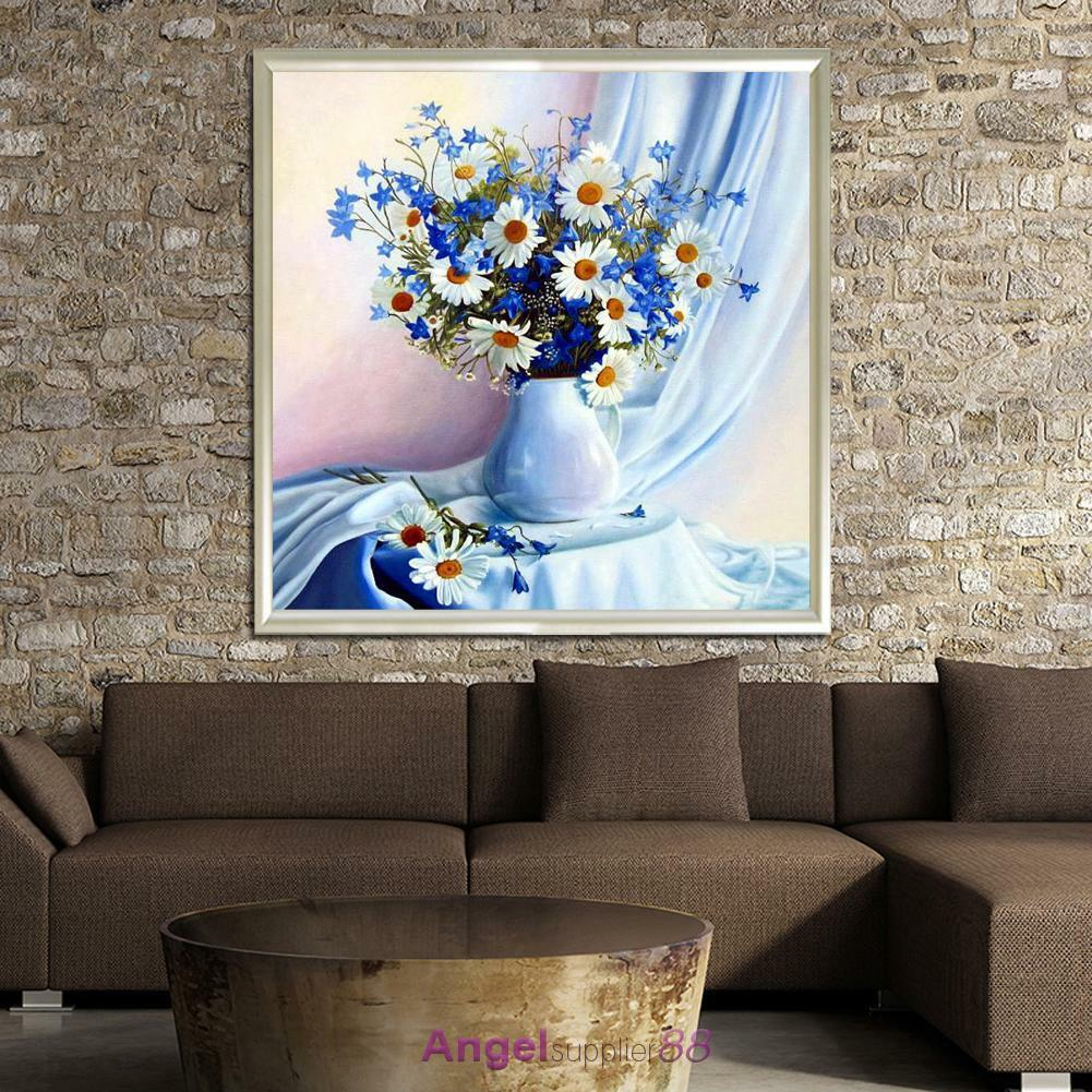 Full drill diy 5d diamond painting embroidery cross crafts for Home decor 5d