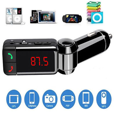 Bluetooth FM Transmitter Wireless MP3Player Car Kit Charger For iPhone6 Dual USB 3