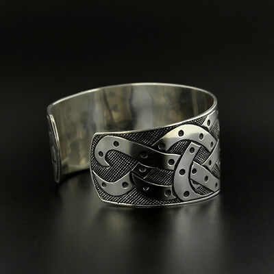 3 Of 4 Uni Octopus Cuff Bracelet Hand Engraved Sterling Silver Oxidized Native Art