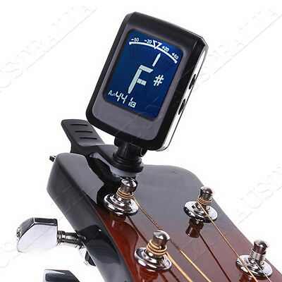 Folding Acoustic Bass Guitar Stand A Frame Floor Rack Holder and Guitar Tuner AU 7