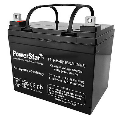 AB12350 12V 35AH Battery Replacement for Pride Jet 3 Ultra Power Wheelchair