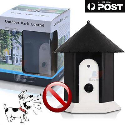 Dog Stop Bark Training Receiver Ultrasonic Outdoor Citronella Anti  Spray Collar 7
