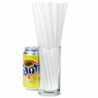 800 Straws Clear Straw Milkshake Smoothie Drinks Cocktail Frappe Slush Straws 2