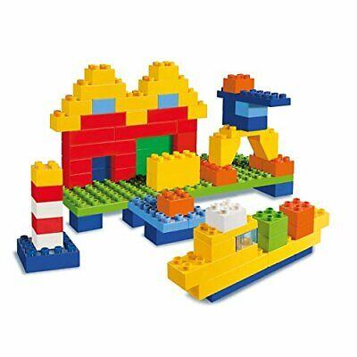 120x Mattoncini di costruzione, Cestino per mattoni da gioco, Ideale per bambini 3