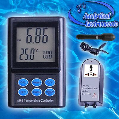 Ph/temperatur Controller Mit Autokalibrierung Co2 Ph-Regelgerät Ph-221 P14 4