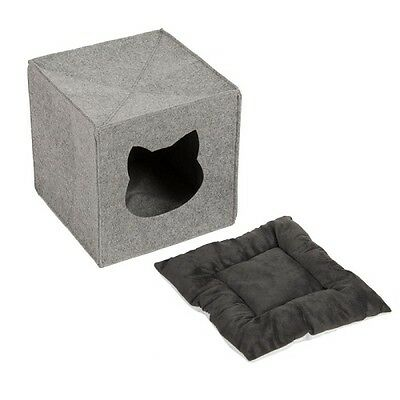 Cat Den For Shelves Privacy Bed Napper Foldable Cube Perfect Hideaway Washable 4