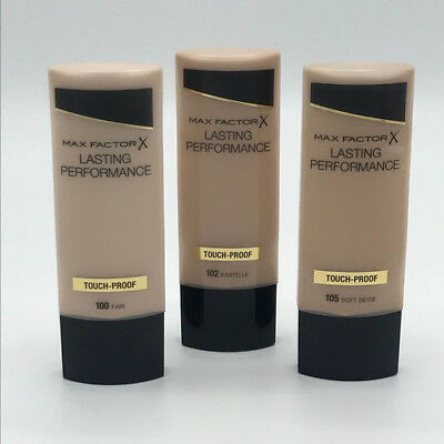 Max Factor Lasting Performance Touch Proof Foundation 35ml - Please Choose Shade 2