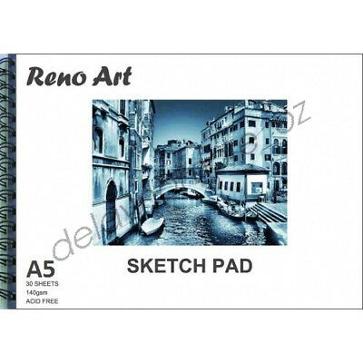 A5 Sketch Pad 140gsm Atrist Painting Art Paper Sketchbook  Drawing Craft Pastel 8