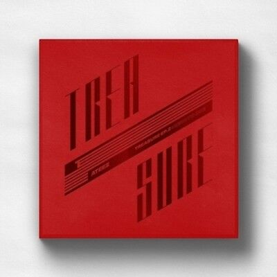 US SHIPPING Ateez-[Treasure EP.2:Zero To One]2nd Mini CD+Poster/On+Book+Card+etc 2
