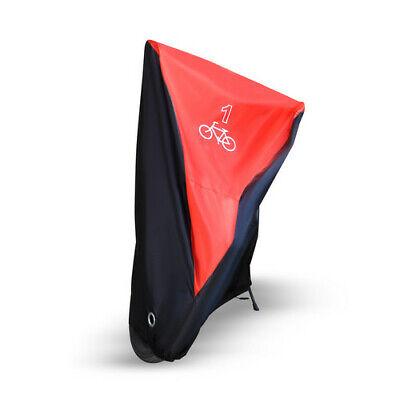 Single/Double/Triple Bicycle Bike Cycle Cover Waterproof Rain Dust Sun Protector 9