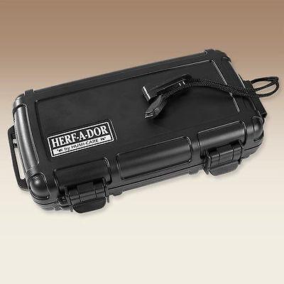 Herf A Dor X5 Five 5 Stick Cigar Caddy Travel Case Humidor - New 2