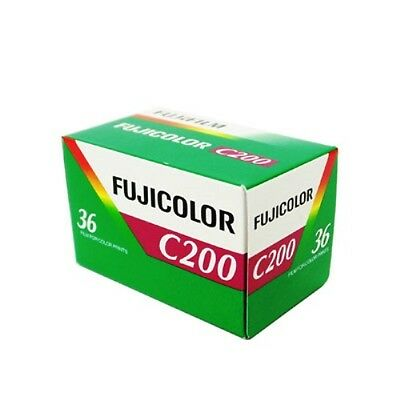 4 Rolls Fuji Fujicolor C200 36 CA 135-36 35mm Color Film, Total 144 exposure 2