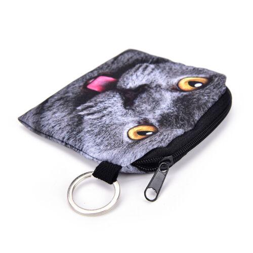 Katze-Münzen-Geldbeutel-Karikatur-Mappen-Beutel-Kindergeldbeutel-Hal hf RSFD