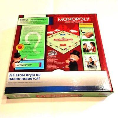 RUSSIAN MONOPOLY Classic finance family BOARD GAME Cyrillic