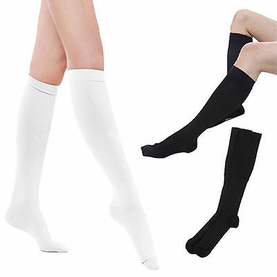 (4 Pairs) Compression Socks Stockings Graduated Support Men's Women's (S-XXL) 3