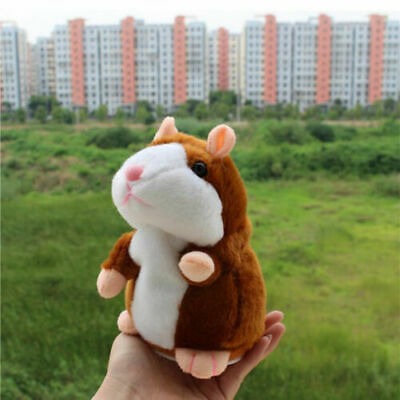 Talking Hamster Plush Toy Lovely Speaking Sound Record Repeat Kids Toy Cute Gift 6
