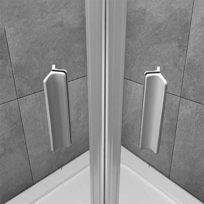 1000x800mm Quadrant Shower Enclosure and Stone Tray Corner Cubical Glass Left 8