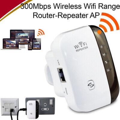 300Mbps WiFi Range Extender Super Booster Superboost Boost Speed Kabellos EU FR 2