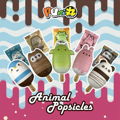 Puni Maru Animal Popsicle Part 2 Freeby the Green Frog Squishy
