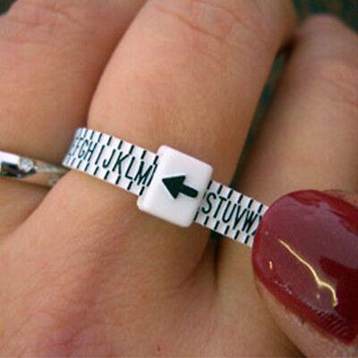 UK Ring Sizer Measure Finger Gauge For Wedding Ring Band Engagement Ring New 2
