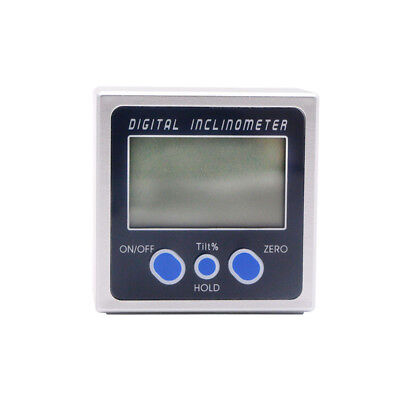 Digital Protractor Inclinometer Bevel Box Electronic Angle Meter Angle Finder 2