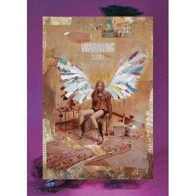 [US SHIPPING] Sunmi-[Warning] Mini Album CD+PhotoBook+Lenticular Bookmark+Card 2