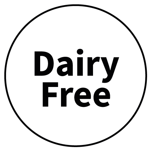 """""""Dairy Free"""" Stickers - Food Allergy Labels - Various Colours and Sizes 4"""