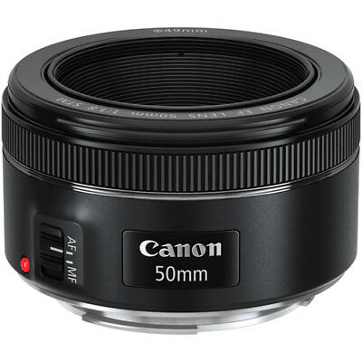 Canon EF 50mm f/1.8 STM Lens For Canon DSLR Cameras - BRAND NEW 2