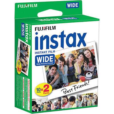 80 Prints Fuji Fujifilm Instant Wide Film for Instax 200, 210, 300 Camera 4
