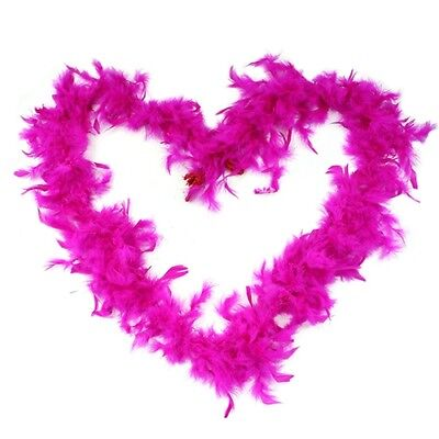 2M Feather Boa Stripe Fluffy Craft Costume Dress Up Wedding Party Flower Decor 8