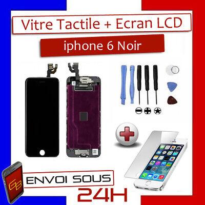 BLOC COMPLET VITRE TACTILE ECRAN LCD IPHONE 6/6 plus/6s/6s+/7/7+/8/8+ NOIR/BLANC 4