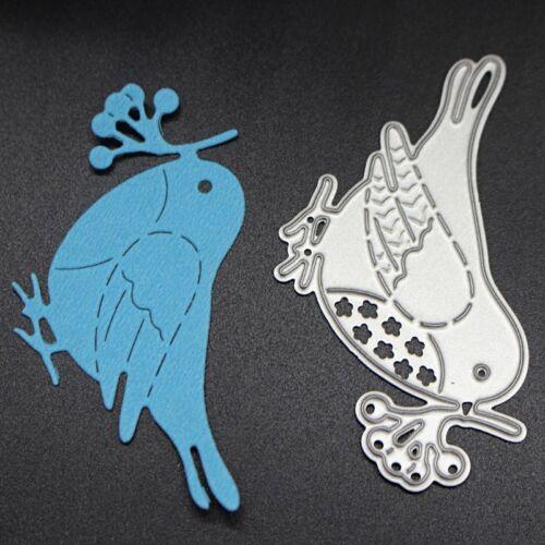 Bird Cutting Dies Stencil DIY Scrapbooking Embossing Album Paper Cards Craft