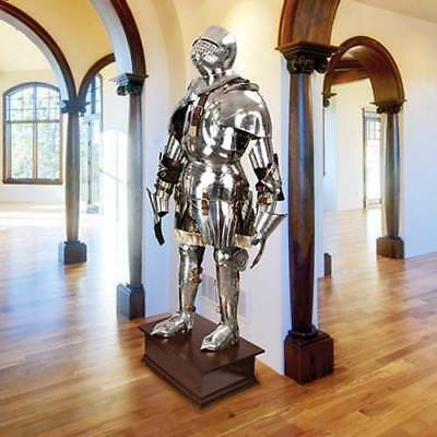MUSEUM REPLICAS Gothic Suit of Armor  1:1 scale Life-Size - Hand-Forged NEW 2
