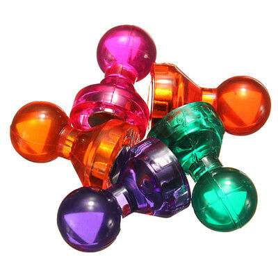 Strong Magnets Fridge Memo Magnet Push Pin Skittle Notice Board 4
