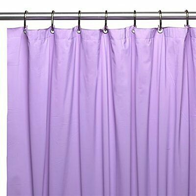 Heavy Duty Mildew Free Vinyl Waterproof Shower Curtain Liner With Magnets New 7