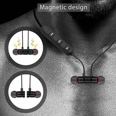 Bluetooth Sport Headphones Magnetic Wireless Earphones In-Ear Headset Waterproof 7