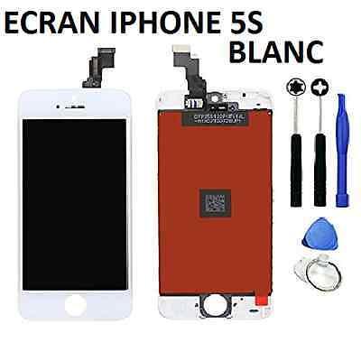 VITRE TACTILE IPHONE 5S / 5C / 5 / 5 SE + ECRAN LCD SUR CHASSIS Grade AAA + FILM 5