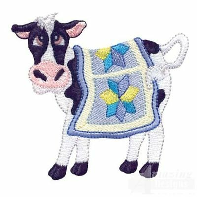 MACHINE EMBROIDERY DESIGNS ON CD OR USB COW COUNTRY COLLECTION
