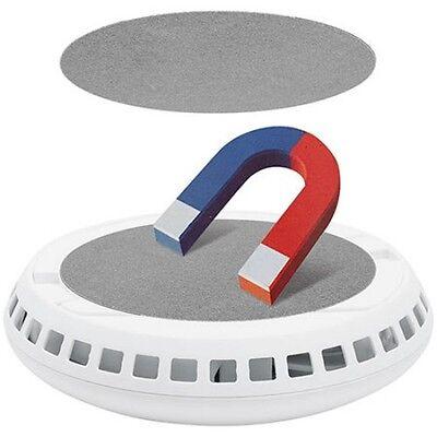 5 x Magnetbefestigung für Rauchmelder installieren ohne bohren CORDES CC44 neu